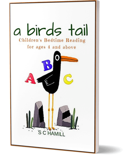 A Birds Tail. Childrens Picture Book