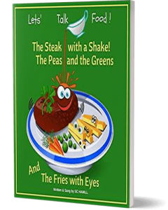 Lets Talk Food. Childrens audiobook companion