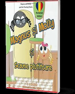 Cartea copiilor români / moldoveni pentru vârste de peste 4 ani. Povestea de prietenie păianjen.