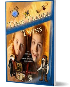 Time Travel Twins featuring Leonardo Da Vinci and Johnny Depp