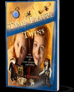 Time Travel Twins featuring Leonardo Da Vinci and Johnny Depp