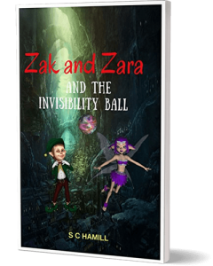 ZAK and ZARA and the INVISIBILITY BALL