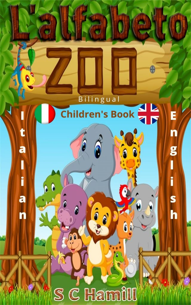 L 'alfabeto zoo. Children's Bilinugal Picture Book